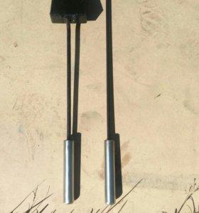 Кочерга,совок для мангала
