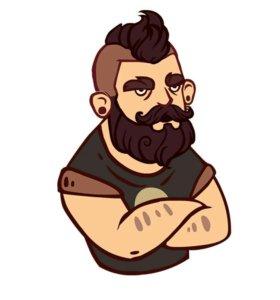 Игрушка бородист