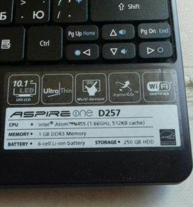 Нетбук(Acer Aspire One)