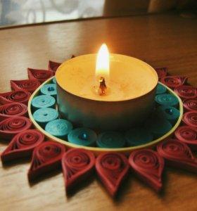 подставка под чайную свечу