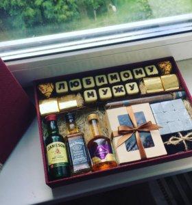 Мужской подарок, коробочка счастья