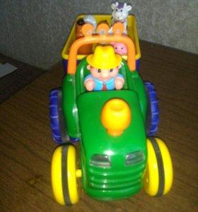 Трактор фермер Kiddieland