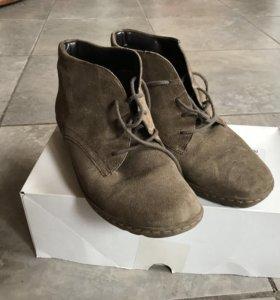 Демисезонные ботинки 38.5 размер