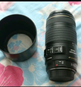 Canon EF 70-300mm f/4-5.6 IS USM + бленда ET65B