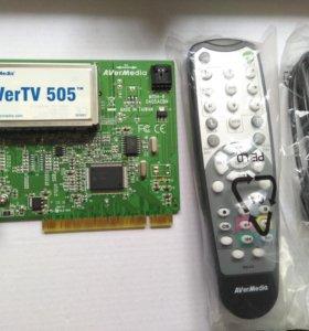 TV тюнер AverMedia 505
