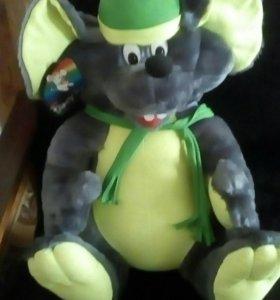 Крыса игрушка мягкая