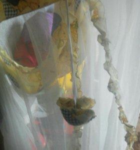 Борты и балдахин в кроватку