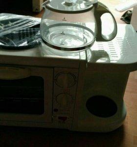 Чудо печь кофе варка духовка плитка все в одном