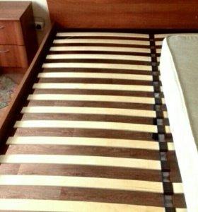 Кровать +1 тумба и матрас