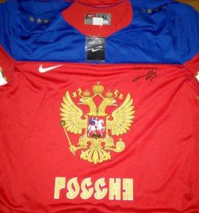 Хоккейный свитер Nike сб. России