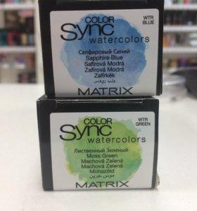 Краска для волос Matrix акварельные оттенки