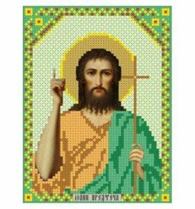 Вышивка бисером Святой Иоанн Предтеча