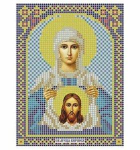 Вышивка бисером Святая Вероника