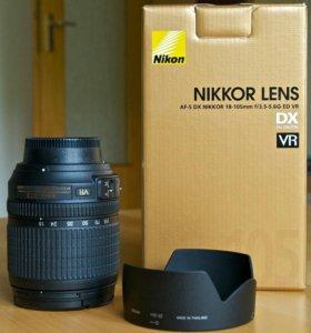 Объектив Nikon 18-105mm f/3.5-5.6G AF-S DX VR