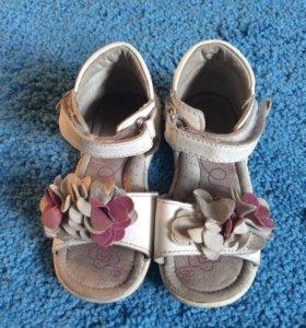 Босоножки сандали детские кожаные🛍