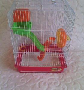 Клетка для джунгариков (маленькие хомяки)
