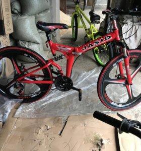 Велосипед новый,горный,складной.