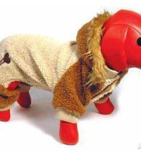 Зимний, тёплый комбинезон для собак