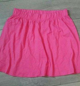 Новая юбка Terranova, хлопок, M, розовая