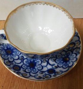 Чашка с длюдцем ЛФЗ
