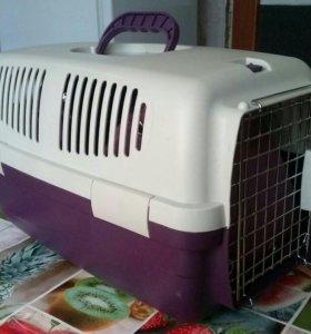 Контейнер-переноска для кошек и мелких собак
