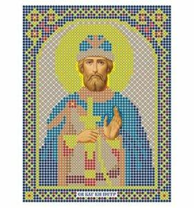 Вышивка бисером Святой Пётр