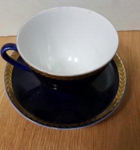 Чашка с блюдцем ЛФЗ