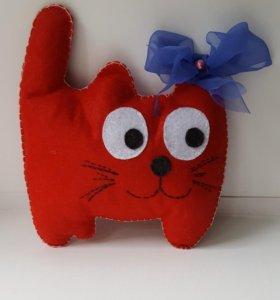 Котик Игрушка из фетра