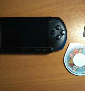 Игровая приставка Sony PSP + Диск GTA + CD карта