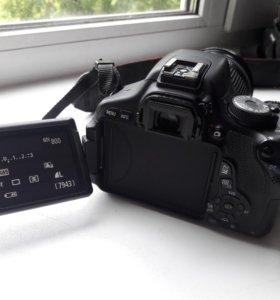 Canon EOS 600d 18-200mm