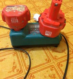 Зарядное устройство+2 батареи