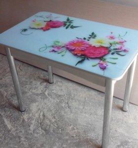 Новый стол с фотопечатью