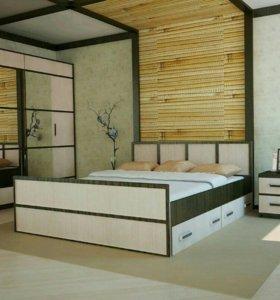 """Кровать """" Сакура """" 1,4м"""
