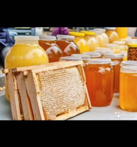 Мёд с личного пасека