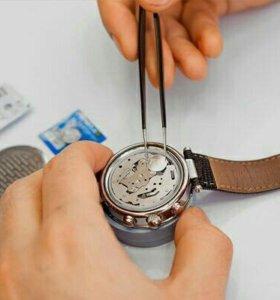 Замена батареек в часах