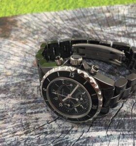 Новые женские часы Chanel black