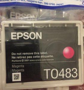 Картридж Epson T0483 T0482