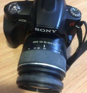 Зеркальный фотоаппарат Sony альфа 230