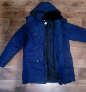 Куртка зимняя на подстежке рост 170_176