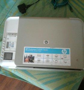 Принтер сканер цветной.
