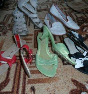 Обувь летняя одним пакетом