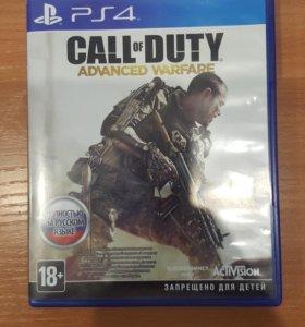 Call of duty advanced warfare для ps4