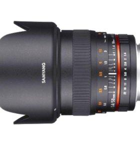 Samyang 50mm, f1.4, canon m