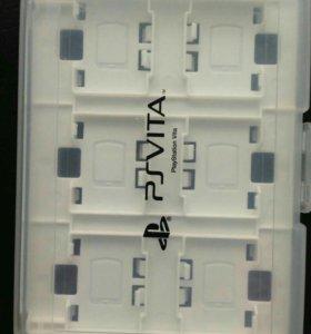 Кейс для картриджей PS Vita