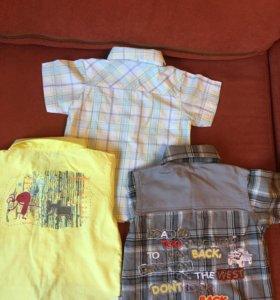 Рубашка для мальчика р.70-72