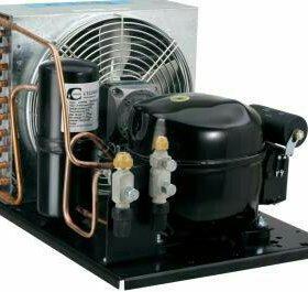 Компрессор с радиатором ( охлодителем )