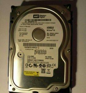 Жесткий диск 80гб
