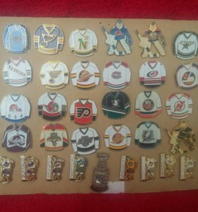 Значки команды NHL