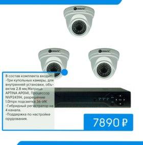 Гибридное оборудование для наблюдения 720p