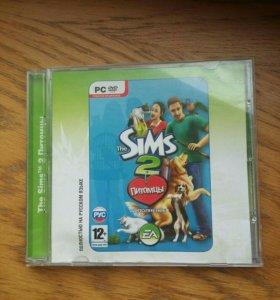 Компьютерная игра Sims 2 pets